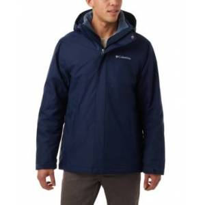 Columbia Men's Big & Tall Eager Air 3-in-1 Omni-Shield Jacket  - Collegiate Navy