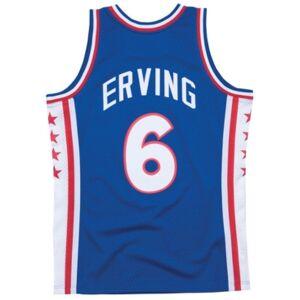Mitchell & Ness Men's Julius Erving Philadelphia 76ers Hardwood Classic Swingman Jersey