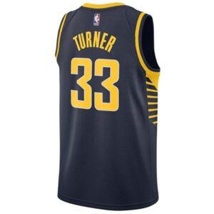 Nike Men's Myles Turner Indiana Pacers Icon Swingman Jersey  - Navy