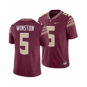 Nike Men's Jameis Winston Florida State Seminoles Player Game Jersey  - Maroon