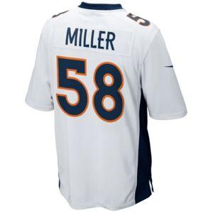Nike Men's Von Miller Denver Broncos Game Jersey  - White