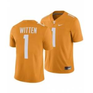 Nike Men's Jason Witten Tennessee Volunteers Player Game Jersey  - Orange