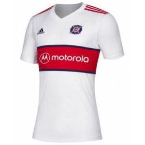 adidas Men's Chicago Fire Secondary Replica Jersey  - White