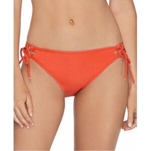 Raisins Juniors' Sweet Side-Tie Bikini Bottoms Women's Swimsuit  - Orange