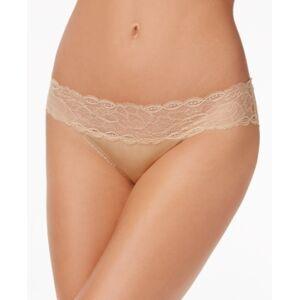Calvin Klein Seductive Comfort Lace Bikini Underwear QF1200  - Bare- Nude 01