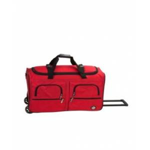 """Rockland 36"""" Check-In Duffle Bag  - Red"""