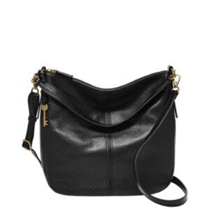 Fossil Women's Jolie Leather Hobo  - Black