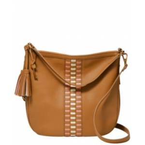 Fossil Jolie Leather Hobo  - Tan
