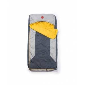 Omnicore Designs Home-Away-Bed M-3D 30 Degree Fahrenheit -1.1 Degree Celsius Multi-Down Hooded Mummy Sleeping Bag and Tall Xl  - Grey