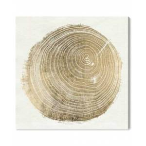 """Oliver Gal Cuore Di Legno Ii Canvas Art - 12"""" x 12"""" x 1.5""""  - White"""
