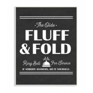 """Stupell Industries Olde Fluff and Fold Ring Bell for Service Wall Plaque Art, 12.5"""" x 18.5""""  - Multi"""