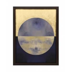 """Paragon Picture Gallery Paragon Blue Sphere Ii Framed Wall Art, 53"""" x 41""""  - Multi"""