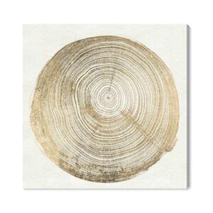 """Oliver Gal Cuore Di Legno Iii Canvas Art - 12"""" x 12"""" x 1.5""""  - White"""