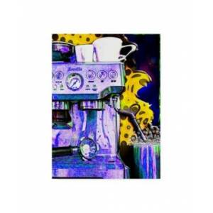"Trademark Global Dana Brett Munach 'Latte Color' Canvas Art - 47"" x 35"" x 2""  - Multi"