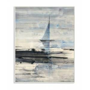 """Stupell Industries Abstract Sailing Wall Plaque Art, 12.5"""" x 18.5"""""""