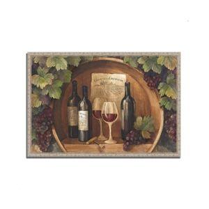 "Tangletown Fine Art At the Winery by Albena Hristova Fine Art Giclee Print on Gallery Wrap Canvas, 47"" x 32""  - Multi"