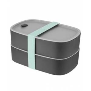 BergHOFF Leo Collection 3-Pc. Bento Box Lunch Set  - Gray