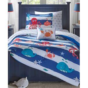 Zone Mi Zone Kids Sealife 6-Pc. Reversible Twin Comforter Set Bedding  - Blue
