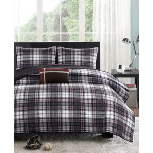 Zone Mi Zone Harley 3-Pc. Twin/Twin Xl Coverlet Set Bedding  - Black