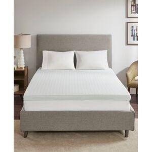 "Philosophy Sleep Philosophy 3"" Memory Foam Queen Mattress Topper with 3M Moisture Management  - White"