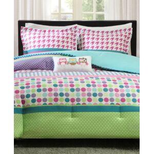 Zone Mi Zone Katie 3-Pc. Reversible Twin/Twin Xl Comforter Set Bedding  - Aqua