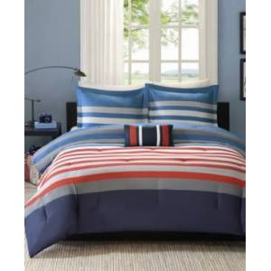 Zone Mi Zone Kyle 4-Pc. Full/Queen Comforter Set Bedding  - Multi