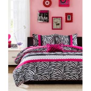 Zone Mi Zone Reagan 4-Pc. Full/Queen Comforter Set Bedding  - Pink