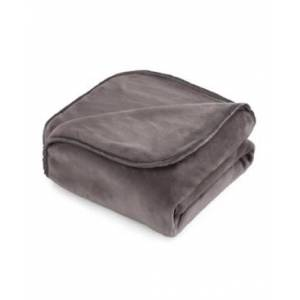 """Vellux The Vellux Heavy Weight 12lb 54"""" x 72"""" Weighted Blanket Bedding  - Charcoal"""