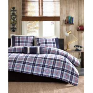 Zone Mi Zone Elliot 4-Pc. Full/Queen Comforter Set Bedding  - Blue