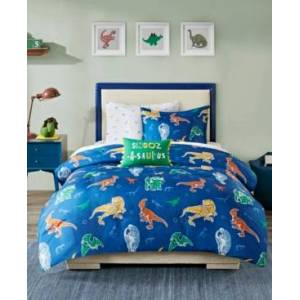 Zone Mi Zone Kids Logan Twin 6 Piece Complete Bed and Sheet Set Bedding  - Blue