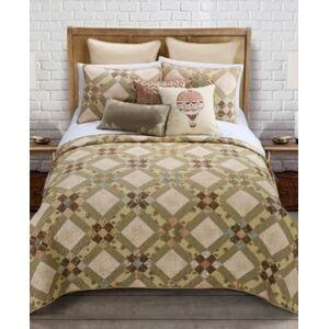 American Heritage Textiles Victorian Beauty Quilt 3 Piece Set, Queen
