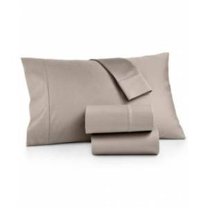 Aq Textiles Bergen 4-Pc. California King Sheet Set, 1000 Thread Count 100% Certified Egyptian Cotton Bedding  - Taupe