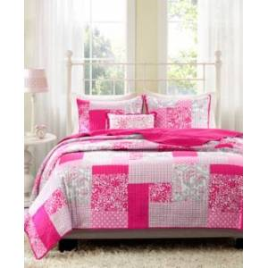 Zone Mi Zone Abbey 3-Pc. Twin/Twin Xl Coverlet Set Bedding  - Pink