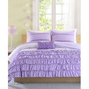 Zone Mi Zone Morgan 3-Pc. Twin/Twin Xl Comforter Set Bedding  - Purple