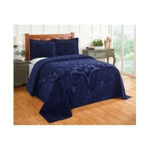 Better Trends Ashton Twin Bedspread Bedding  - Navy