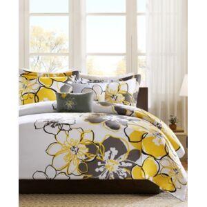 Zone Mi Zone Allison 4-Pc. Full/Queen Comforter Set Bedding  - Yellow