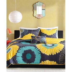 Zone Mi Zone Alice 3-Pc. Twin/Twin Xl Coverlet Set Bedding  - Yellow