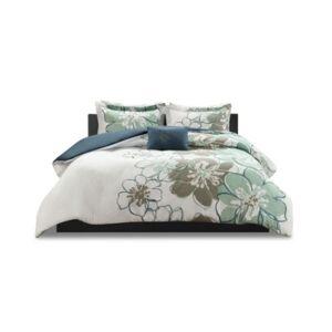Zone Mi Zone Allison 4-Pc. Full/Queen Comforter Set Bedding  - Blue