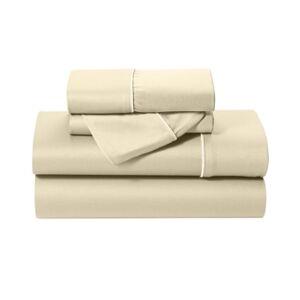Bedgear Dri-Tec Lite Twin Sheet Set Bedding  - Champagne