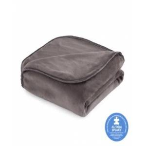 """Vellux The Vellux Heavy Weight 15lb 60"""" x 80"""" Weighted Blanket Bedding  - Charcoal Gray"""