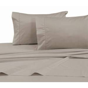 Tribeca Living 750 Thread Count Cotton Sateen Extra Deep Pocket King Sheet Set Bedding  - Taupe