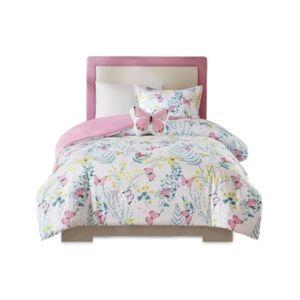 Zone Mi Zone Kids Cynthia 3 Piece Twin Comforter Set Bedding  - Pink