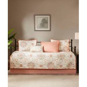 Madison Park Tissa 6-Pc. Daybed Bedding Set Bedding  - Ivory