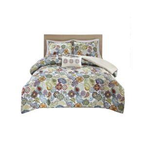 Zone Mi Zone Tamil 4-Pc. Full/Queen Comforter Set Bedding  - Multi
