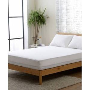 Cheer Collection Knitted Fabric Waterproof Twin Xl Mattress Protector  - White