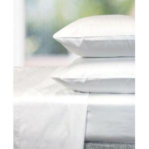 BedVoyage Eco Melange 4 Piece Queen Sheet Set Bedding  - White