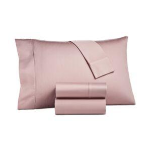 Aq Textiles Camden 4 Pc Queen Sheet Set, 1250 Thread Count Bedding  - Blush