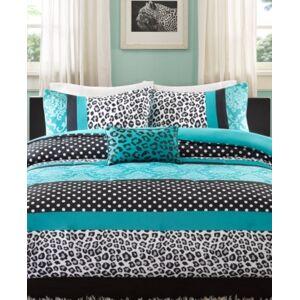 Zone Mi Zone Chloe 4-Pc. Full/Queen Comforter Set Bedding  - Teal