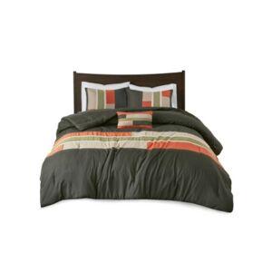Zone Mi Zone Pipeline 4-Pc. Reversible King/California King Comforter Set Bedding  - Olive