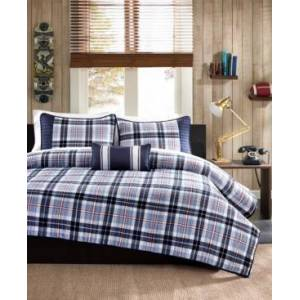 Zone Mi Zone Elliot 3-Pc. Twin/Twin Xl Coverlet Set Bedding  - Blue